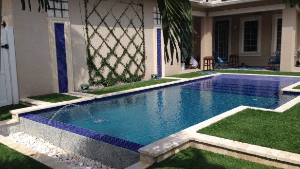MODERN POOL DESIGN - AFTER PHOTO