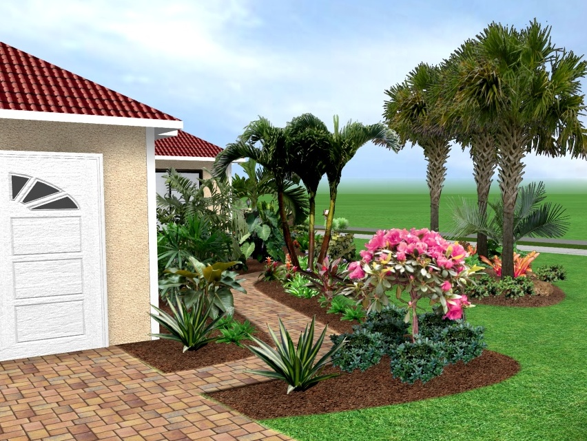 Florida landscape design ideas for Florida landscape design