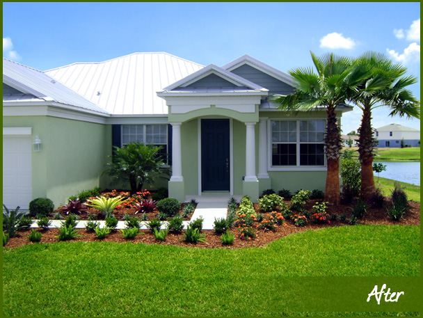 Florida landscape design eileen g designs for Florida landscape ideas front yard