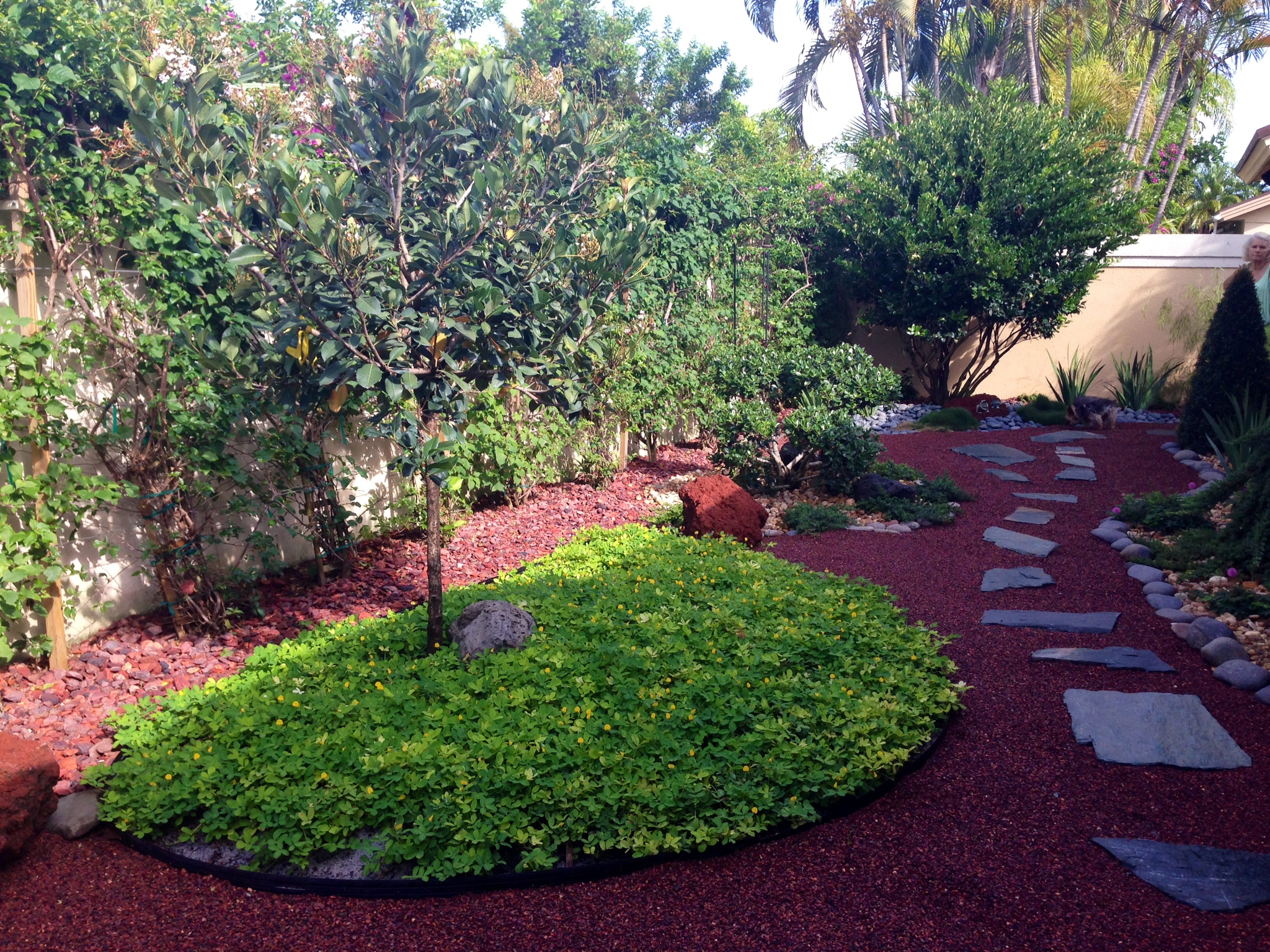 Asian garden for jupiter florida by eileen g designs for Japanese garden backyard designs