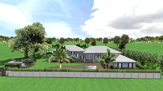 South Florida Tropical Landscape Design