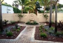Mediterranean Courtyard Garden After 1
