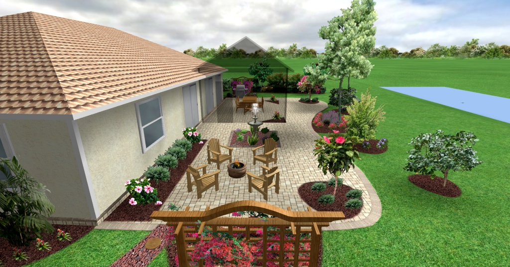Backyard designs south florida specs price release for South florida home designs